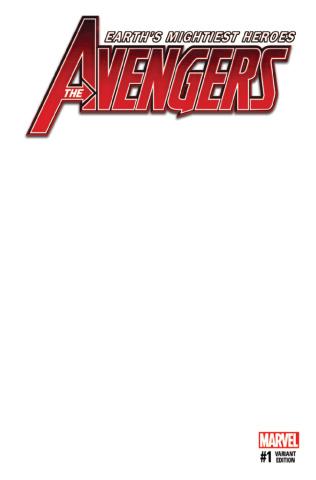 Avengers #1 (Blank Cover)
