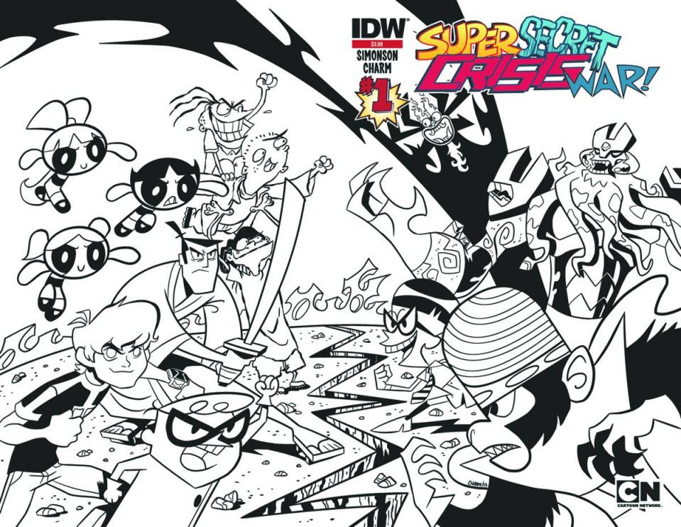 Super Secret Crisis War! #1 (2nd Printing)