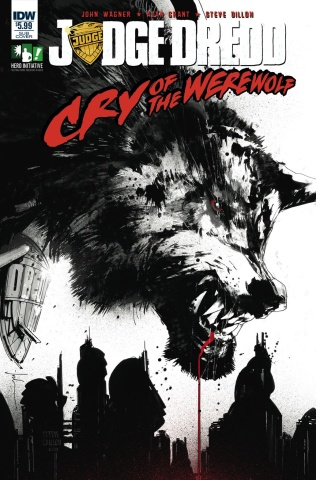 Judge Dredd: Cry of the Werewolf (Subscription Cover)