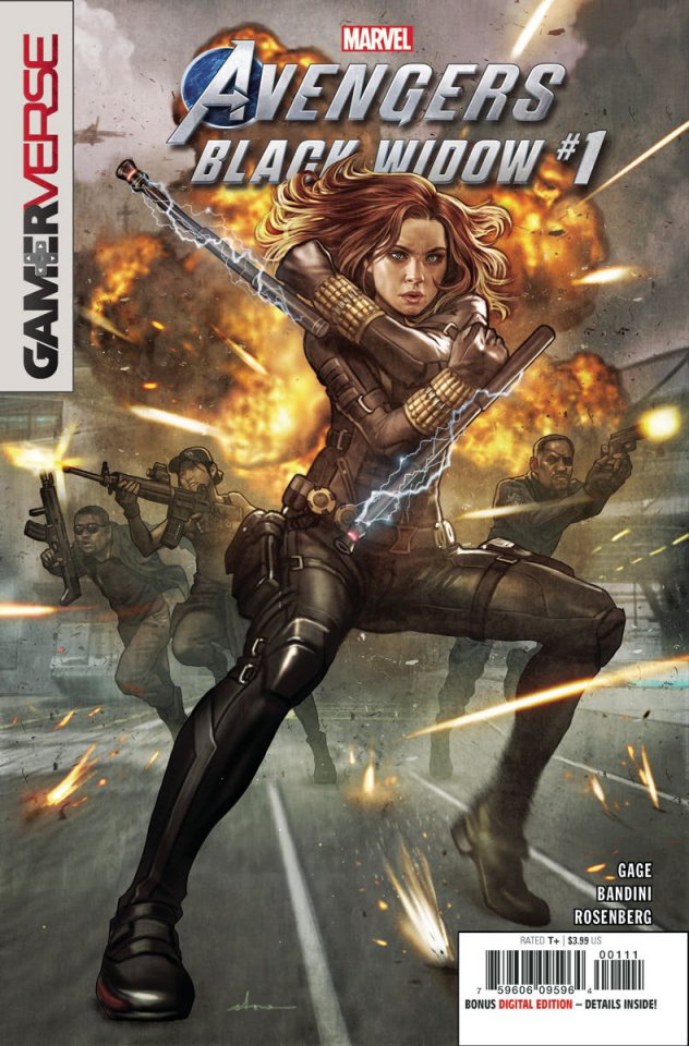 Avengers: Black Widow #1