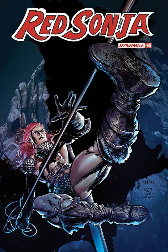 Red Sonja #16 (7 Copy Gedeon Homage Cover)