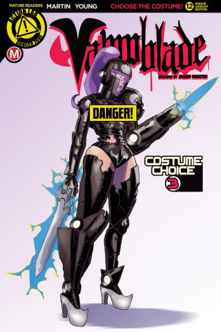 Vampblade #12 (Costume Choice 3 Risque Cover)