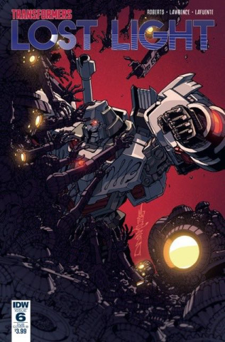 The Transformers: Lost Light #6 (Subscription Cover)