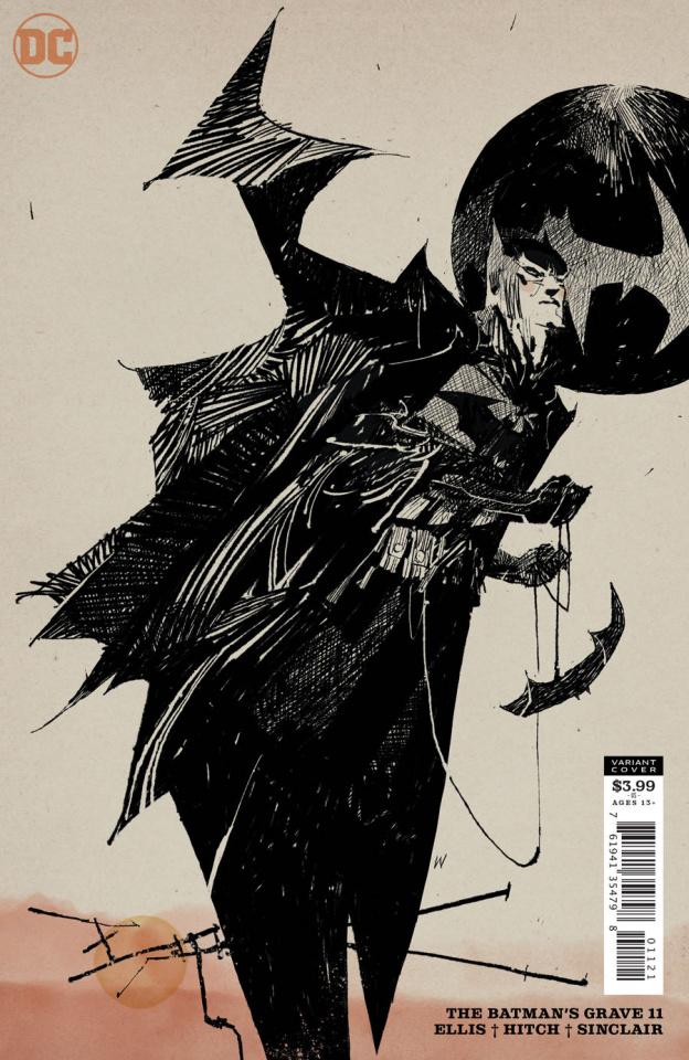 The Batman's Grave #11 (Ashley Wood Cover)