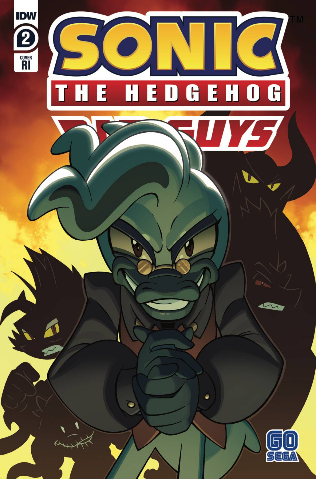 Sonic the Hedgehog: Bad Guys #2 (10 Copy Lawrence Cover)