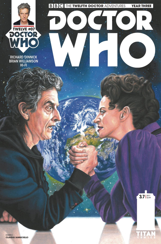 Doctor Who: New Adventures with the Twelfth Doctor, Year Three #7 (Walker Cover)