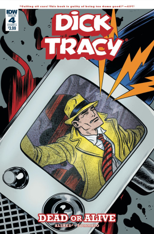 Dick Tracy: Dead or Alive #4 (Allred Cover)