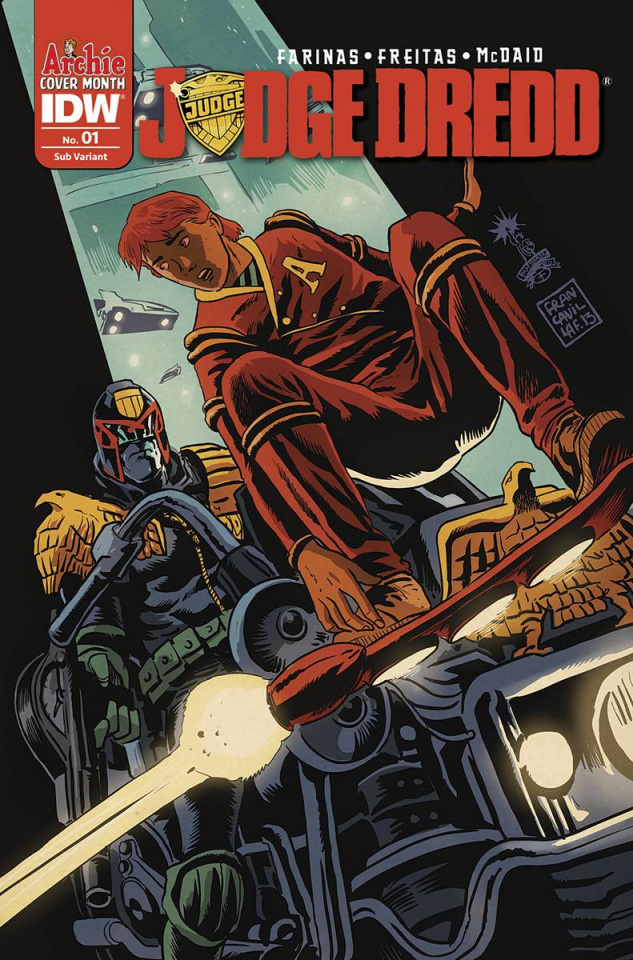 Judge Dredd #1 (Archie 75th Anniversary Cover)