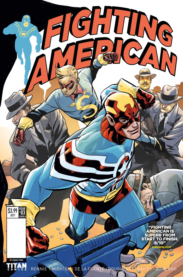 Fighting American #3 (Tong Cover)