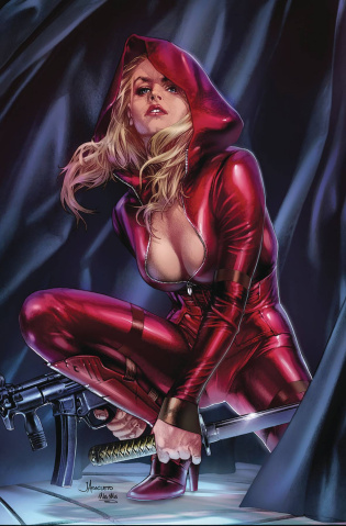 Red Agent: The Island of Dr. Moreau #5 (Anacleto Cover)