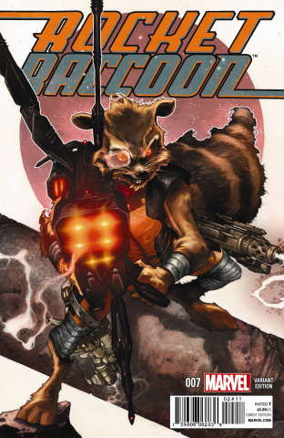 Rocket Raccoon #7 (Bianchi Cover)