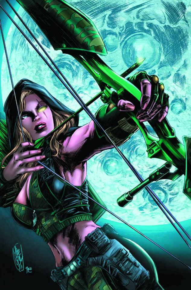 Grimm Fairy Tales: Robyn Hood - Wanted #3 (Lilly Cover)