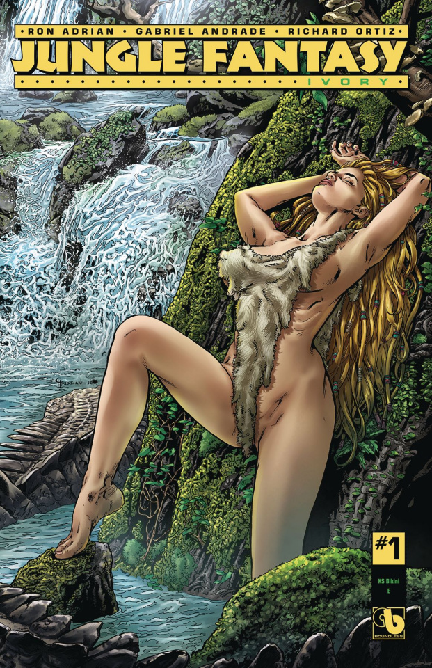 Jungle Fantasy: Ivory #1 (Bikini Century Cover)