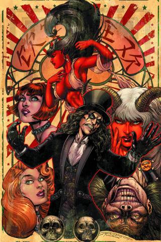 Alice Cooper vs. Chaos! #1 (Rare Chin Virgin Cover)