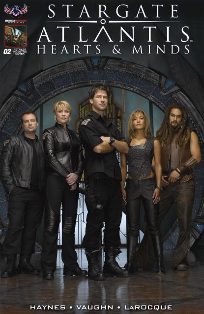 Stargate Atlantis: Hearts & Minds #2 (Retailer Photo Cover)