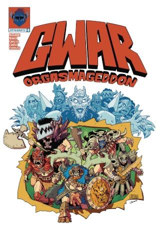 GWAR: Orgasmageddon #3 (Sawyer Cover)