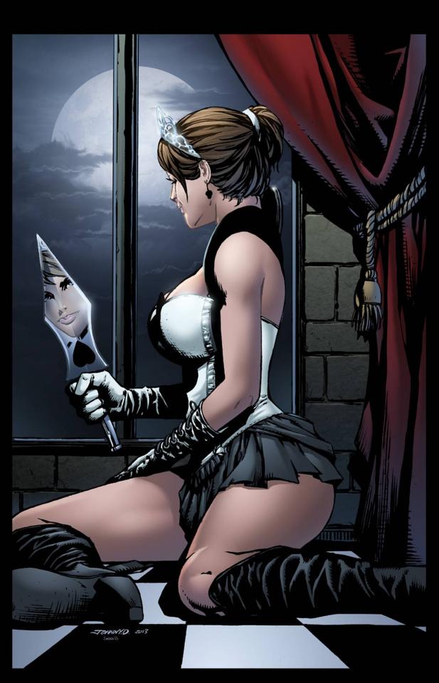 Grimm Fairy Tales: Wonderland - Clash of Queens #2 (Desjardins Cover)