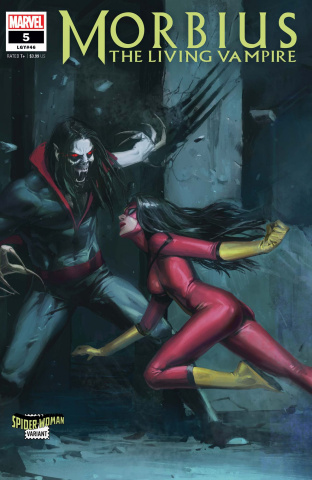 Morbius #5 (Pyeong Jun Park Spider-Woman Cover)