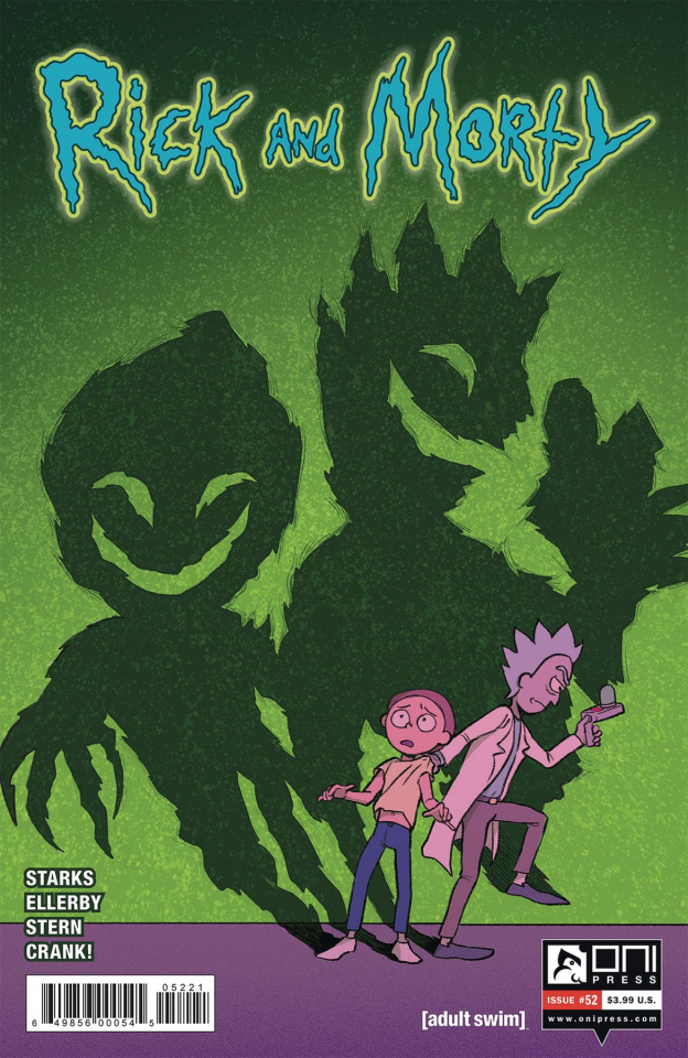 Rick and Morty #52 (Ganucheau Cover)