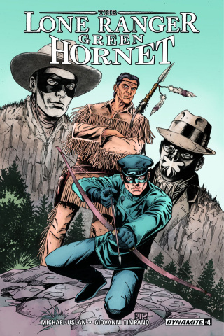 The Lone Ranger / The Green Hornet #4