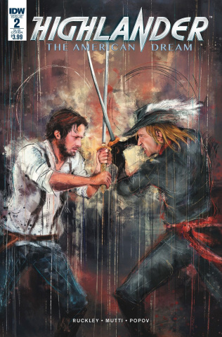 Highlander: The American Dream #2 (Subscription Cover)