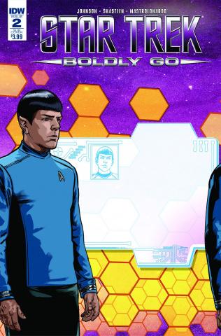 Star Trek: Boldly Go #2 (Subscription Cover)