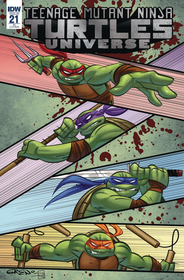 Teenage Mutant Ninja Turtles Universe #21 (10 Copy Cover)