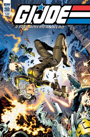 G.I. Joe: A Real American Hero #260 (Royle Cover)