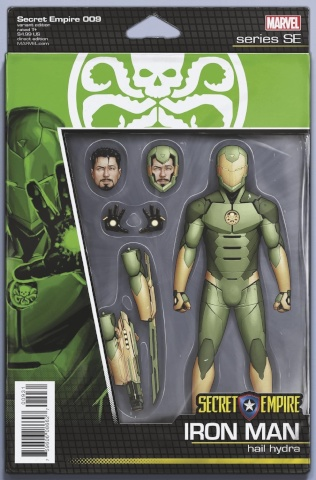 Secret Empire #9 (Christopher Action Figure Cover)