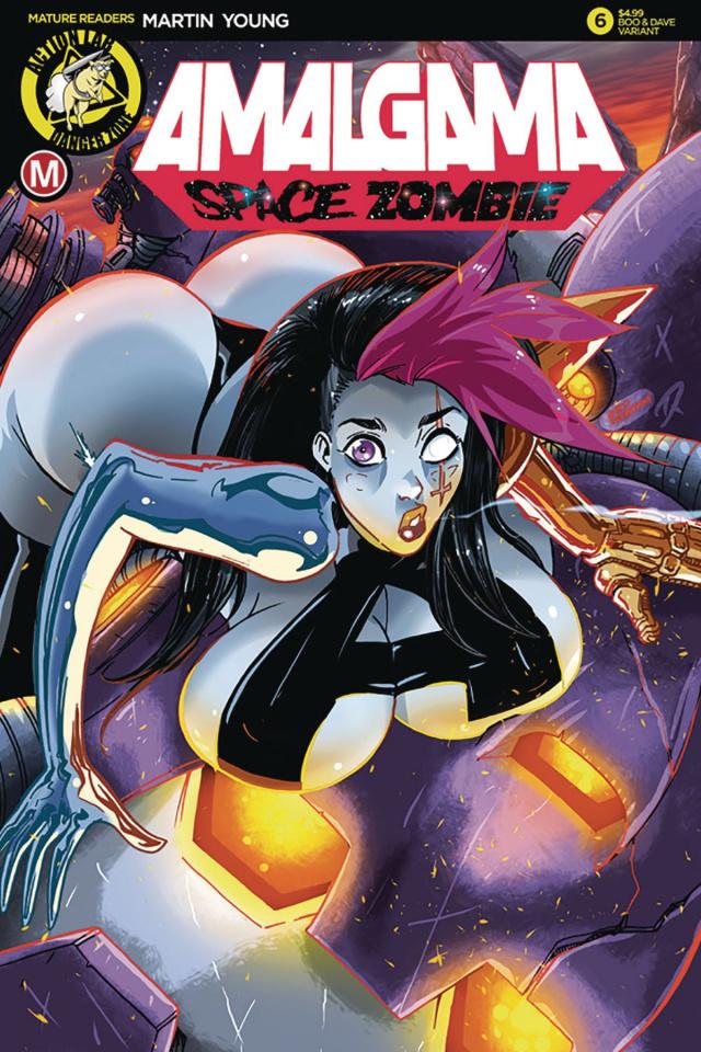 Amalgama: Space Zombie #6 (Rudetoons Reynolds Cover)