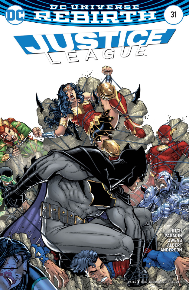 Justice League #31 (Variant Cover)