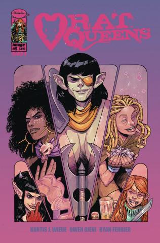 Rat Queens #9 (Del Duca Cover)