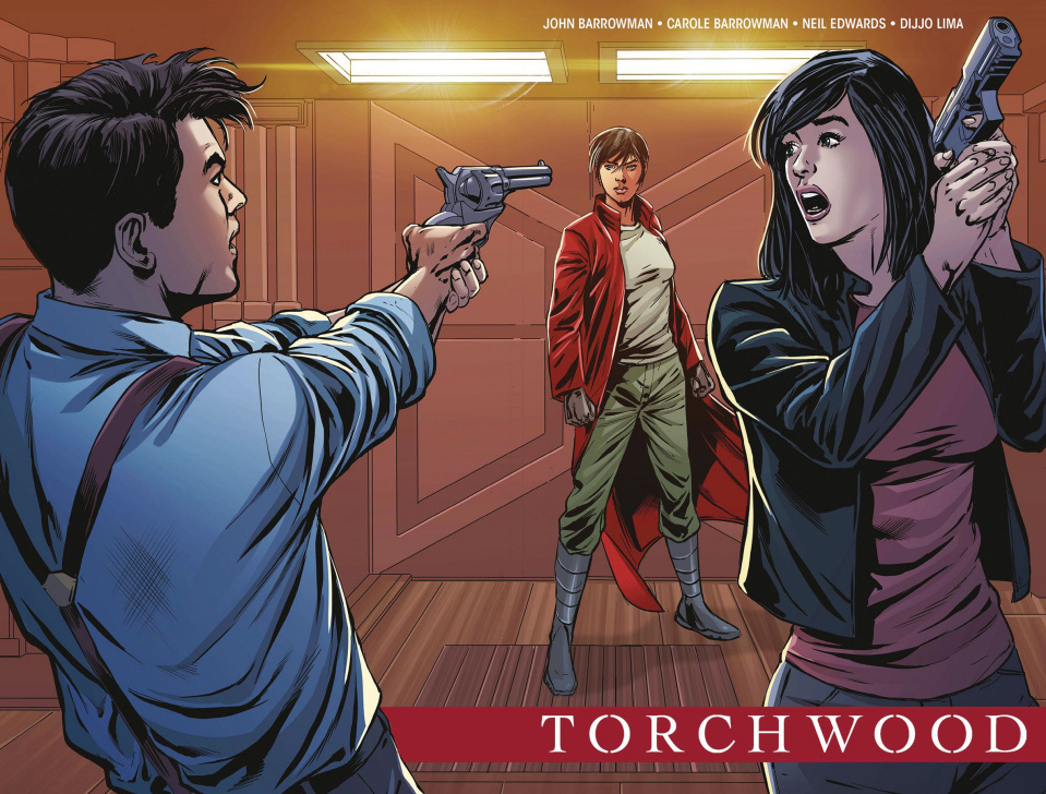 Torchwood: The Culling #1 (Sladen Reveal Wraparound Cover)
