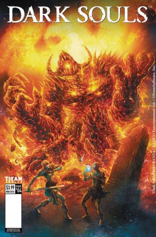 Dark Souls #4 (Quah Cover)