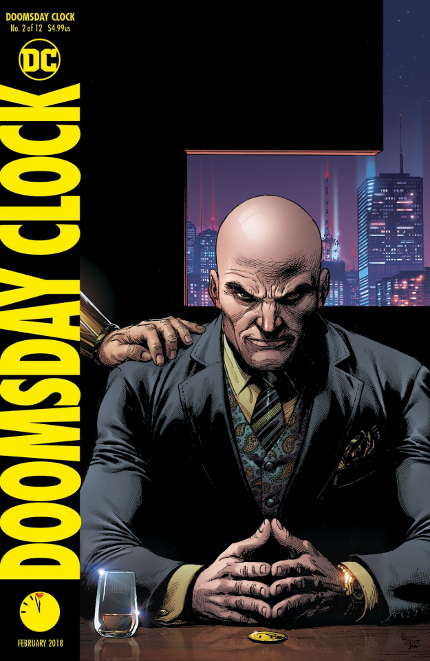 Doomsday Clock #2 (Variant Cover)