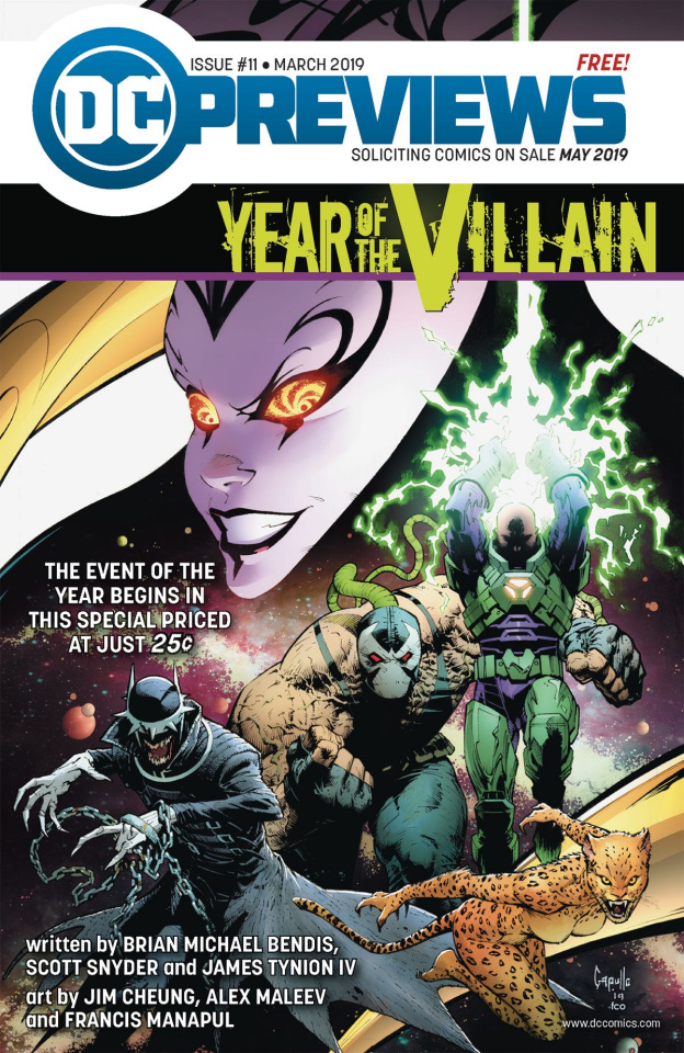 DC Previews #13: May 2019 Extras