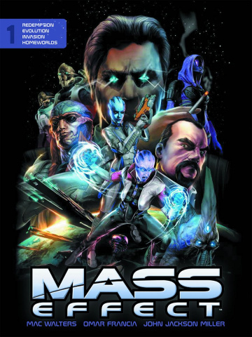 Mass Effect Vol. 1 (Library Edition)