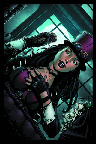 Grimm Fairy Tales: Van Helsing #4 (Desjardins Cover)