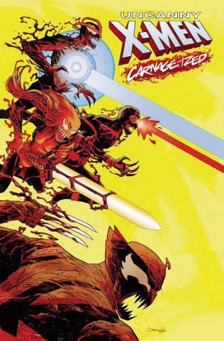 Uncanny X-Men #21 (Shalvey Carnage-ized Cover)