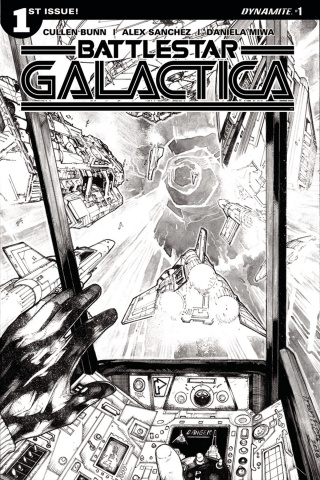 Battlestar Galactica #1 (10 Copy Sanchez Cover)