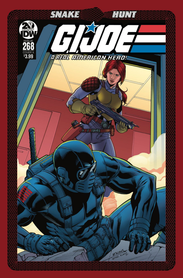 G.I. Joe: A Real American Hero #268 (Atkins Cover)