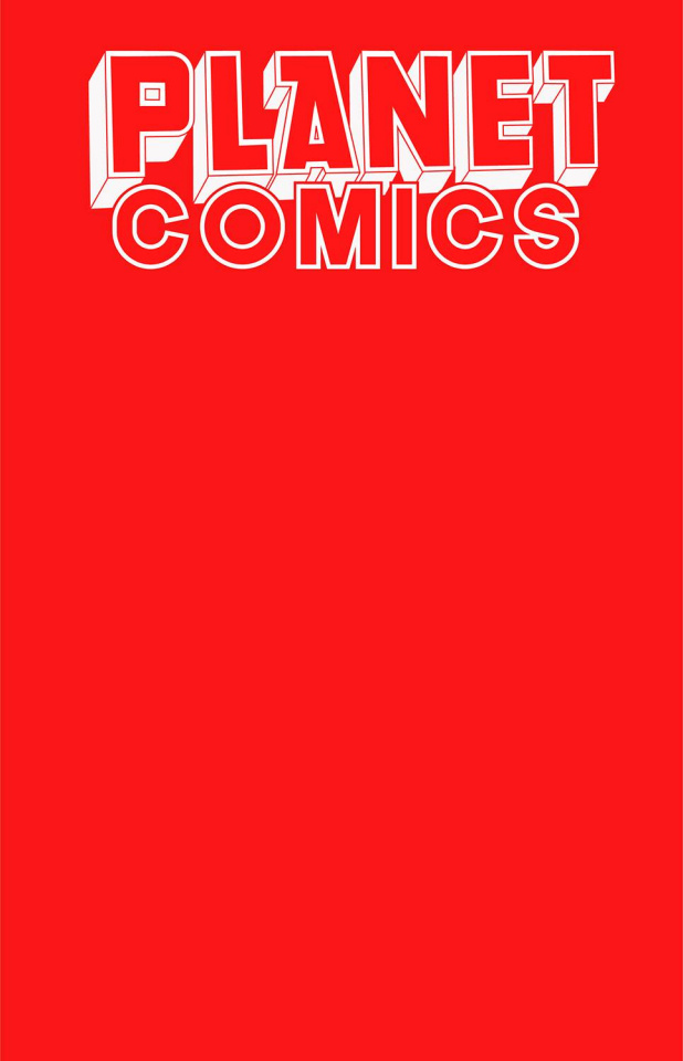 Planet Comics Sketchbook (Red Giant Edition)