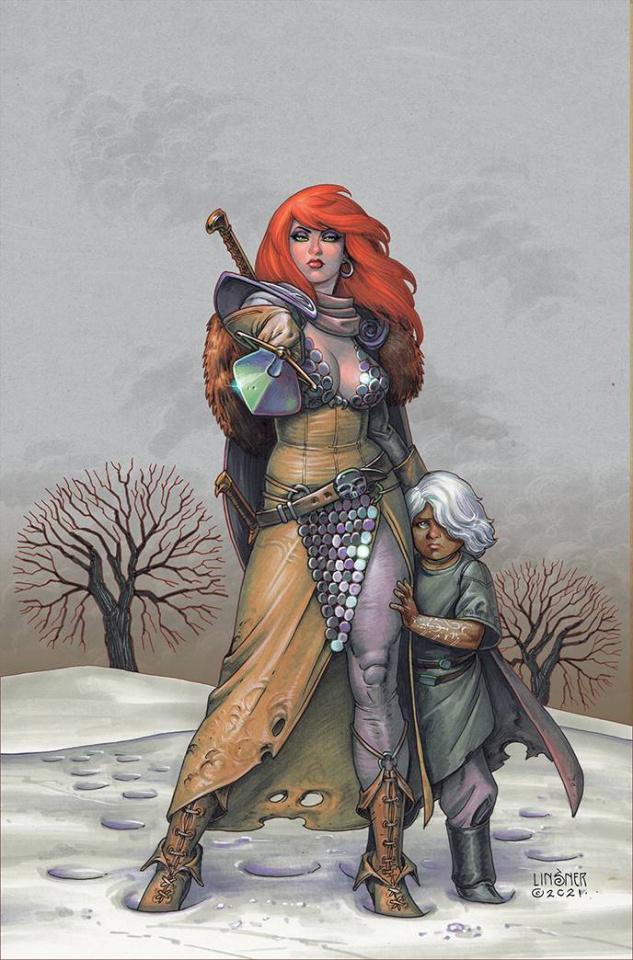 Red Sonja #1 (Linsner Virgin Cover)