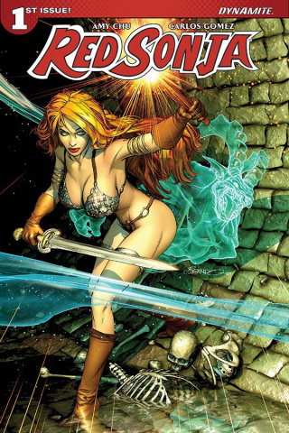 Red Sonja #1 (Peterson Cover)