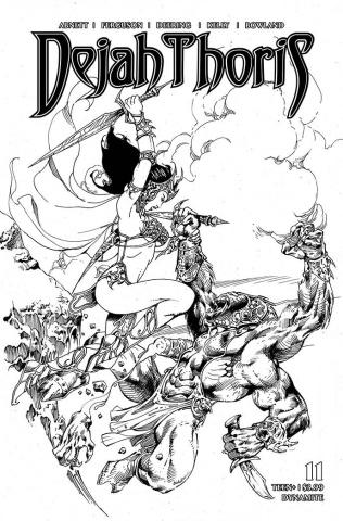 Dejah Thoris #11 (7 Copy Castro B&W Cover)