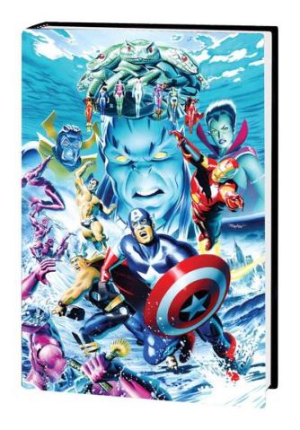 Atlantis Attacks Omnibus Mike Mahew Cover