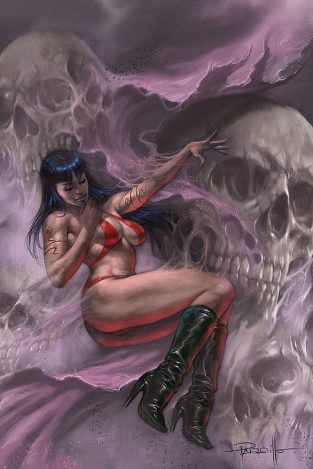 Vampirella #14 (Parrillo Virgin Cover)
