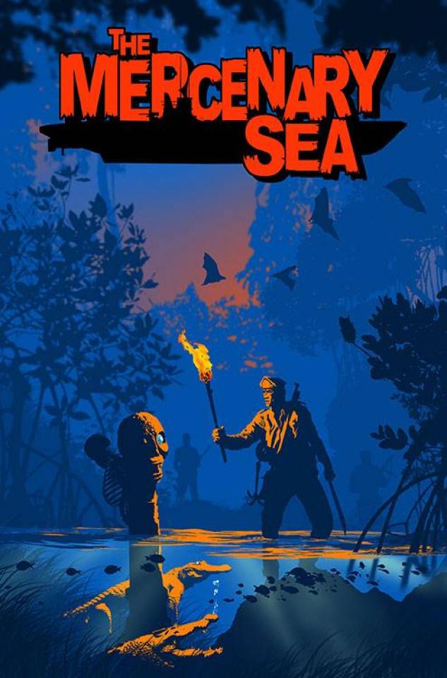 The Mercenary Sea #1 (2nd Printing)