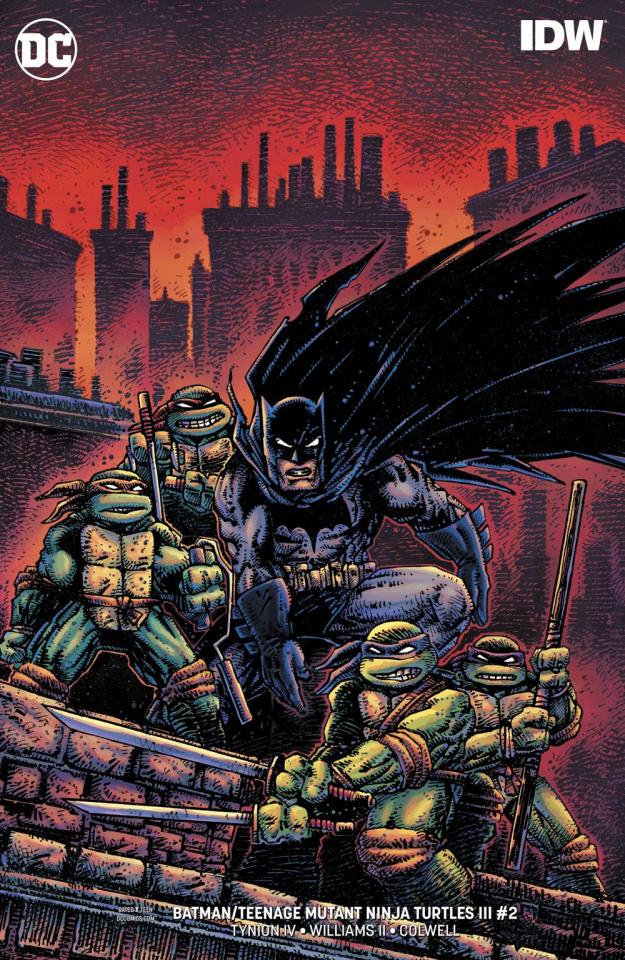 Batman / Teenage Mutant Ninja Turtles III #2 (Variant Cover)