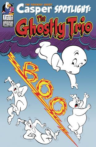 Casper Spotlight: The Ghostly Trio #1